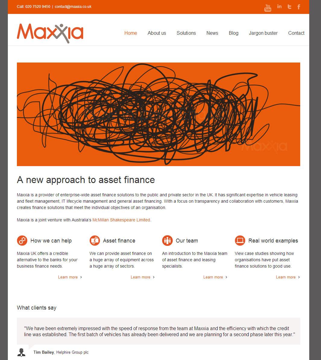 maxxia_website